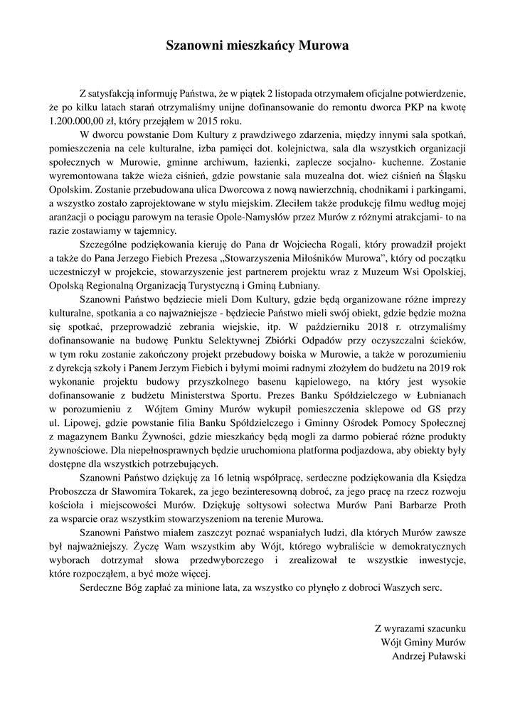 Pismo dla mieszkańców Murowa.jpeg