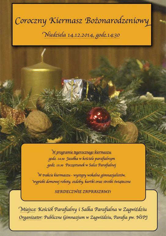 Publiczne Gimnazjum w Zagwiździu_Coroczny Kiermasz Bożonarodzeniowy []..jpeg