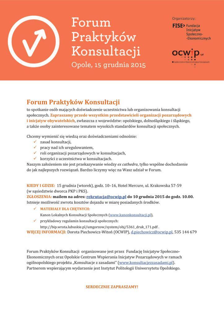 Forum Praktyków Konsultacji Opole - 15.12.2015.pdf.jpeg