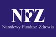 Logo Narodowego Funduszu Zdrowia - litery NFZ